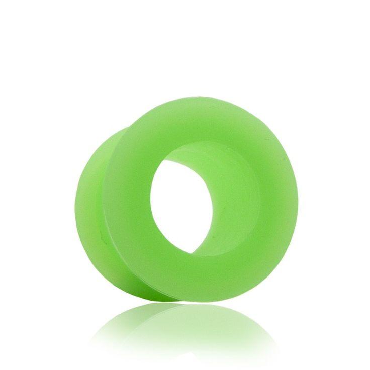 Tunnel silicone, matériau souple et confortable. Disponible du 4mm au 16mm. Le stretching du lobe de l'oreille s'effectue de façon progressive.