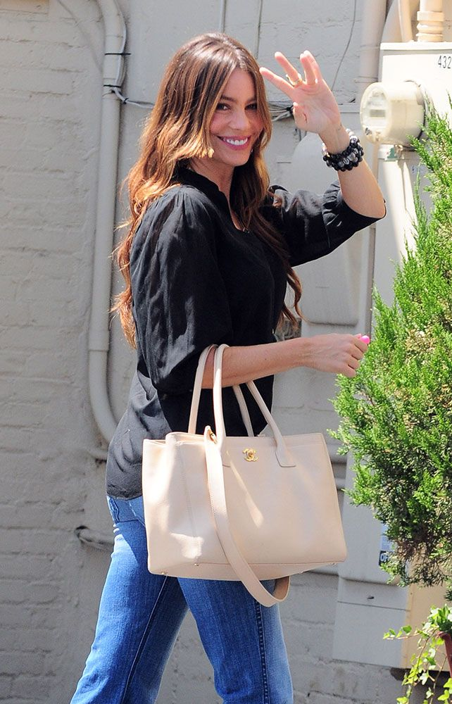 Check out Sofia Vergara's bag collection, including lots of Chanel, Hermes, Fendi and Prada.