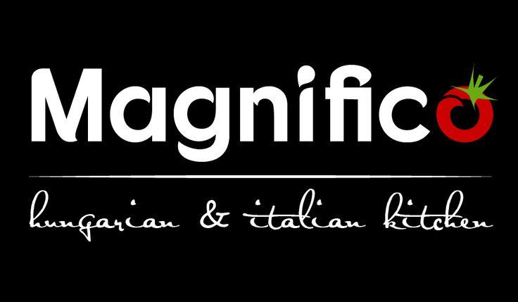 Magnifico olasz-magyar étterem logó - Harmony-Design Studio