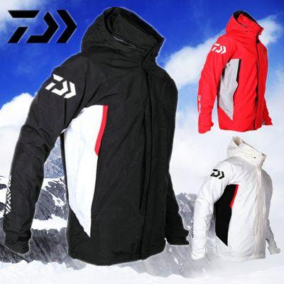 2017 NEW DAIWA Fishing jacket parka pants coat Two-piece suit waterproof Keep warm DAWA Autumn And Winterr DAYIWA Free shipping