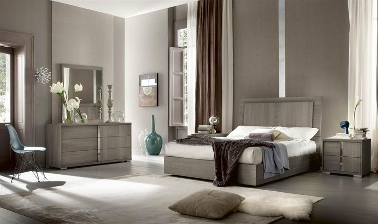 Tivoli Bedroom Collection Made In Italy Grey Oak Eco