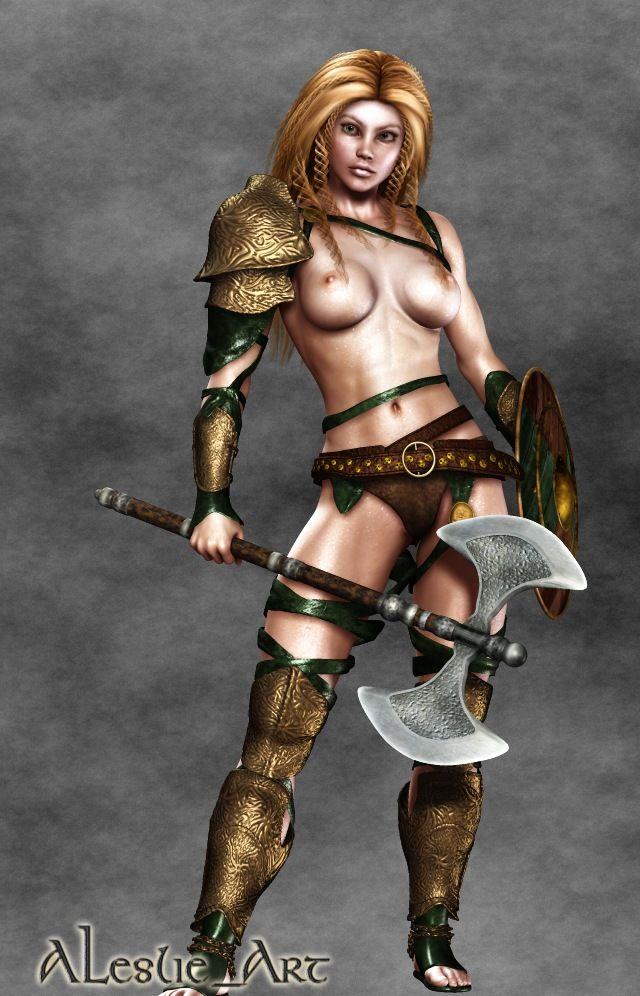 Hildreth Barbarian Gladiatrix by lanista8 | Gladiatrix ...