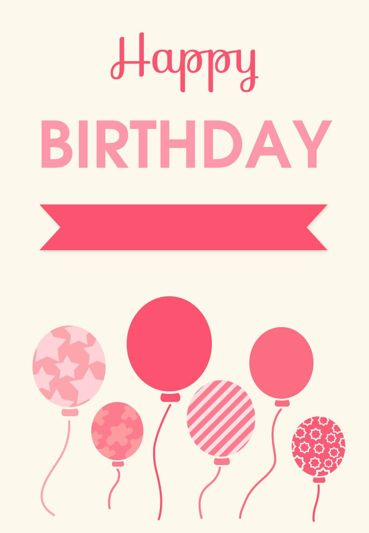 Happy Birthday Card Templates Free Beauteous N V Nvaghela1996 On Pinterest