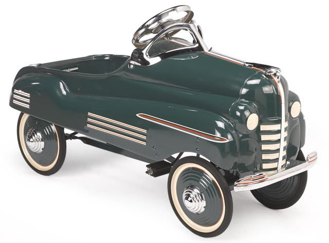 A 1941 Pontiac pedal car by Murray, Approximately 35 ins. long