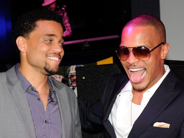 """Actor Michael Ealy (L) and rapper and actor Tip """"T.I."""" Harris appear at the after party for a screening of the movie """"Takers"""" at Lagasse's Stadium at The Palazzo August 17, 2010 in Las Vegas, Nevada. The film opens nationwide in the United States on August 27. - The Palazzo After Party For Sony Pictures Entertainment's """"Takers"""""""