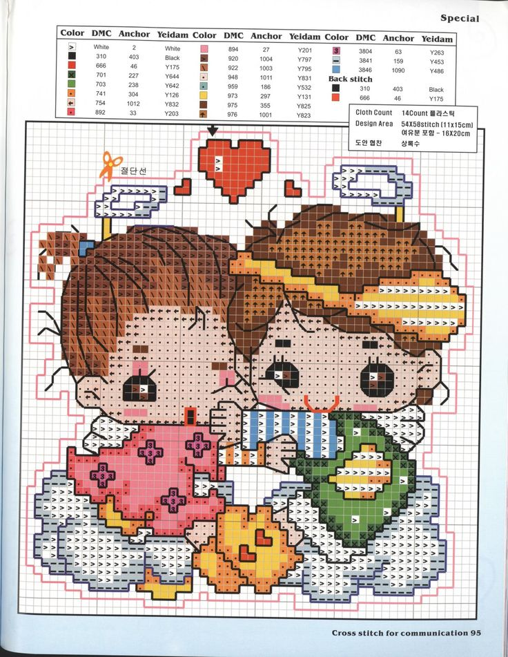 cute, counted cross stitch chart! i want to start one.....soon. ;0)