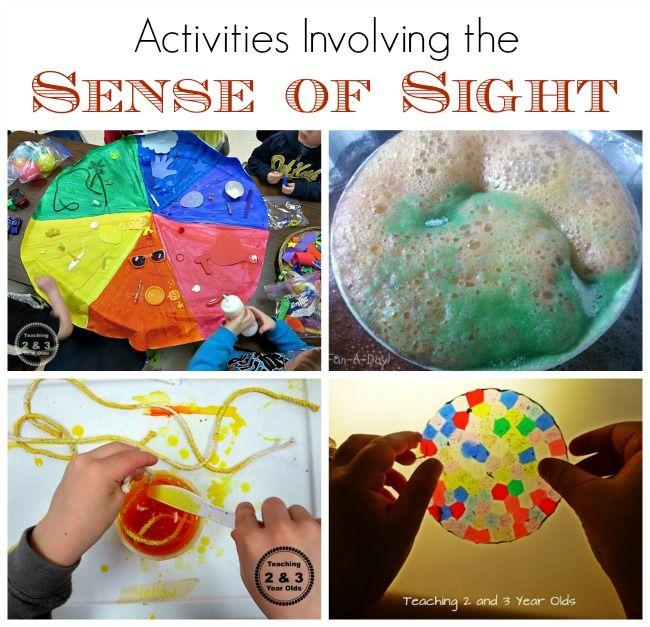 Kids Activities Using the sense of sight