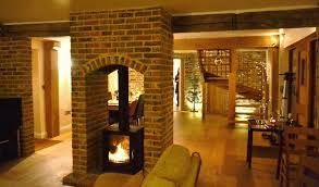 double sided log burners - Google Search