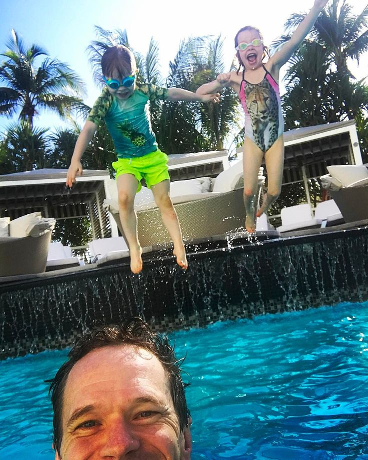 """4,229 Likes, 29 Comments - Neil Patrick Harris (@nph) on Instagram: """"Having such fun at #sobewff with the family in Miami. @loewshotels  @tizzielisch"""""""