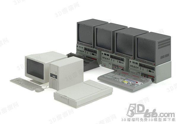 电脑3d模型(4096)