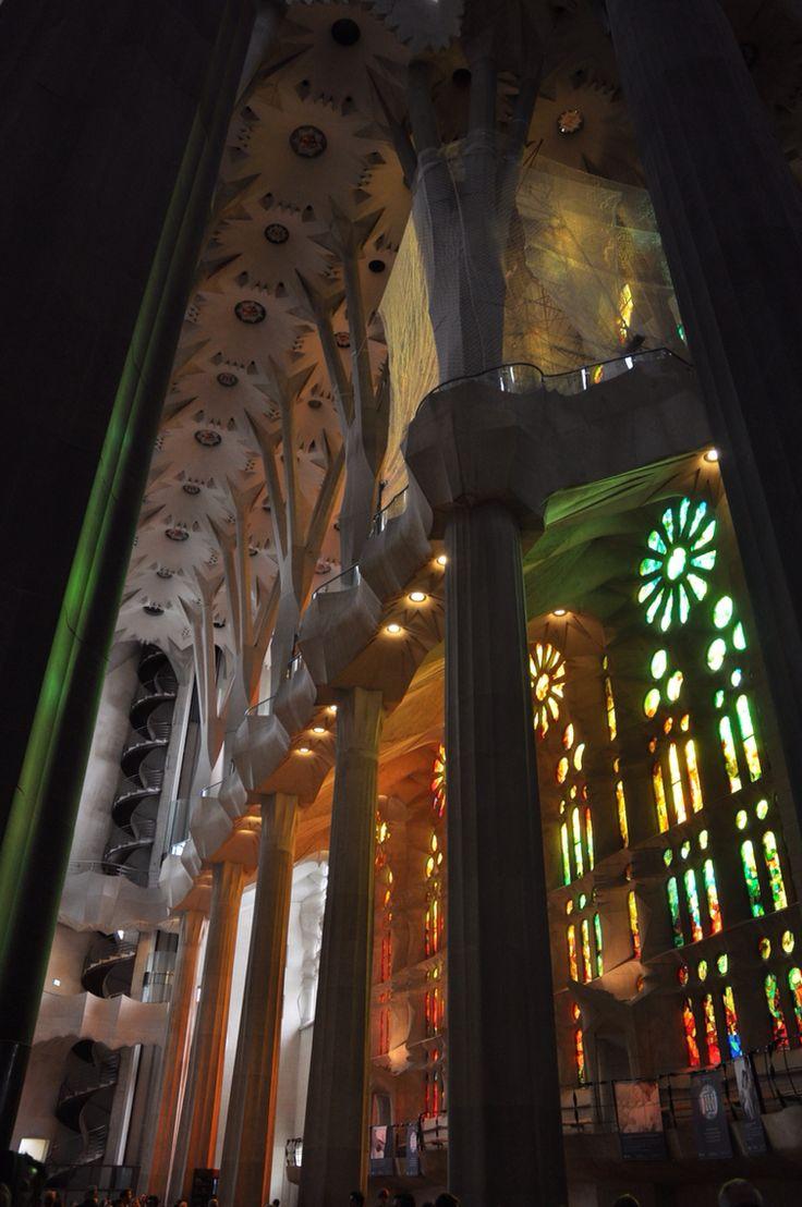 Interior of the Sagrada