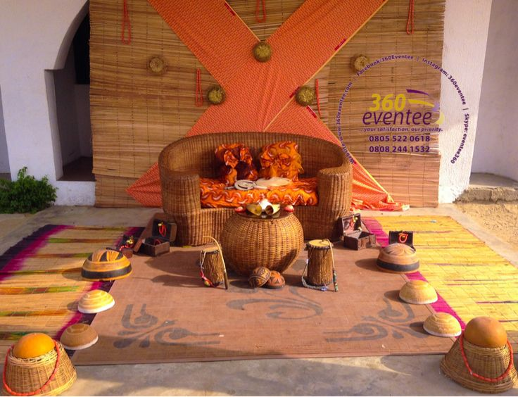Wedding Decor Ideas Traditional : Traditional wedding decoration nigeria