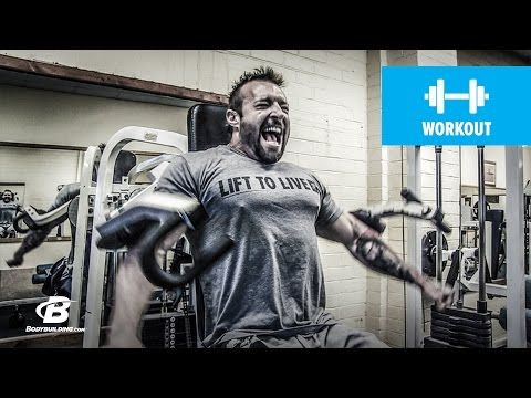 Bodybuilding.com: Shoulders and Triceps Workout | Kris Gethin's 4Weeks2Shred | Day 2