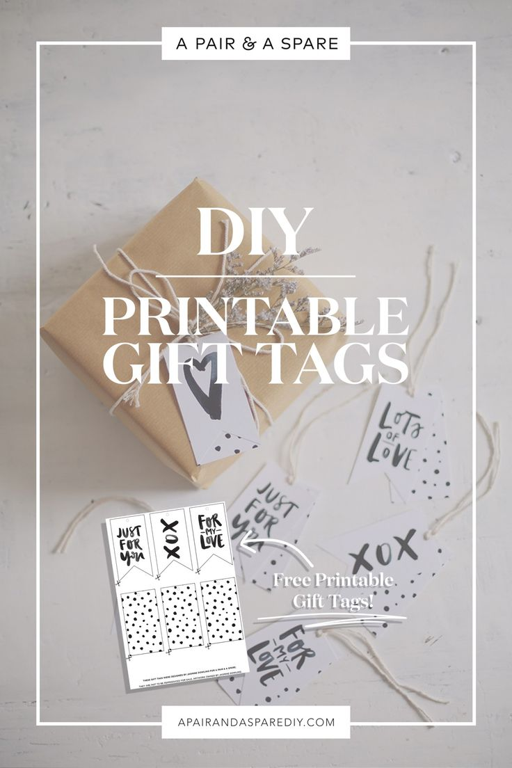 The 25 best gift tag templates ideas on pinterest tag templates make your own custom gift tags with these free printable templates negle Choice Image