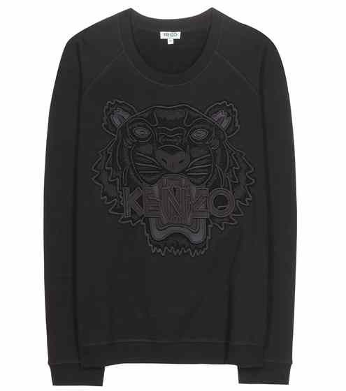 Embroidered cotton sweatshirt | Kenzo