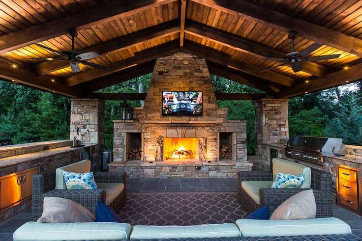 Outdoor-Küche: Einfach zu bauen, billig und sehr …