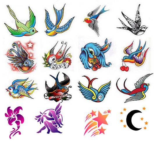 838091811877557519 on Swallow Bird Tattoo Design