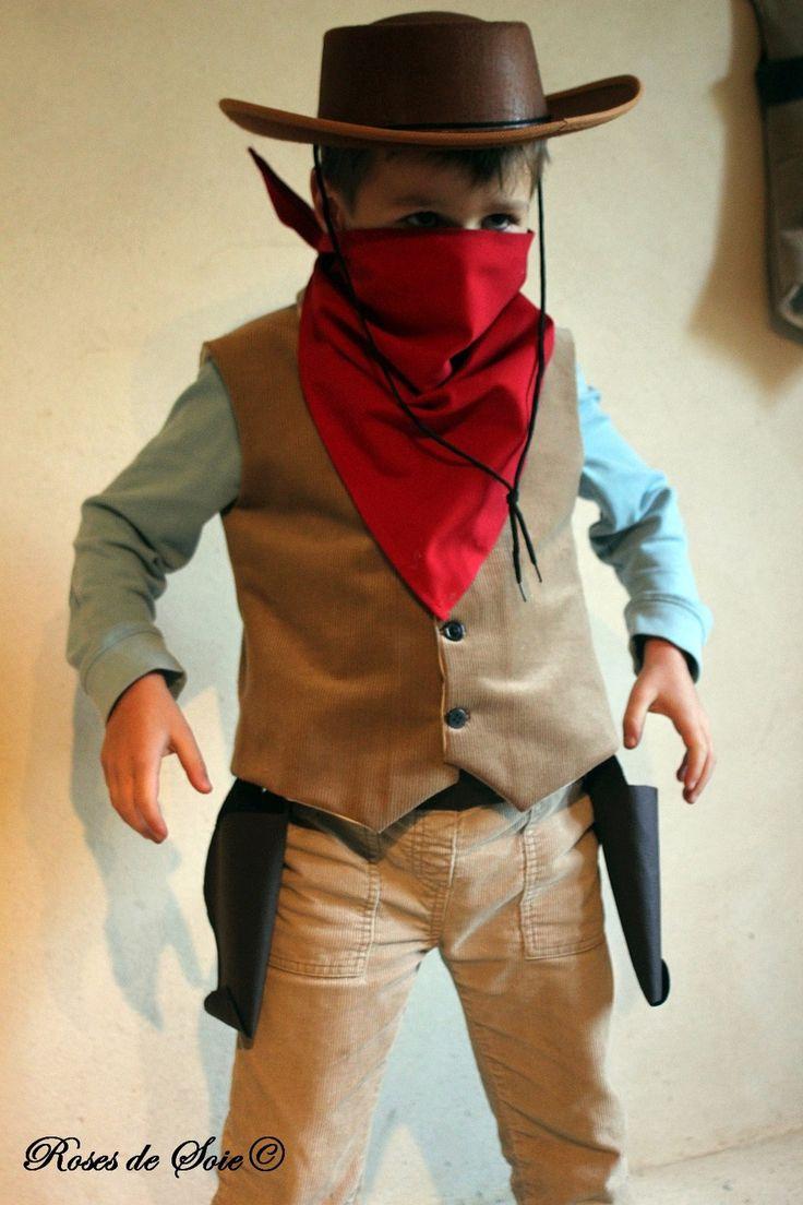 Costume de cowboy bandit ou shérif : déguisements par roses-de-soie