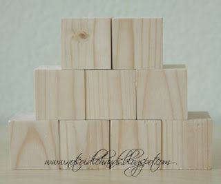 52 best wood block ideas images on pinterest wooden for Large wooden blocks for crafts