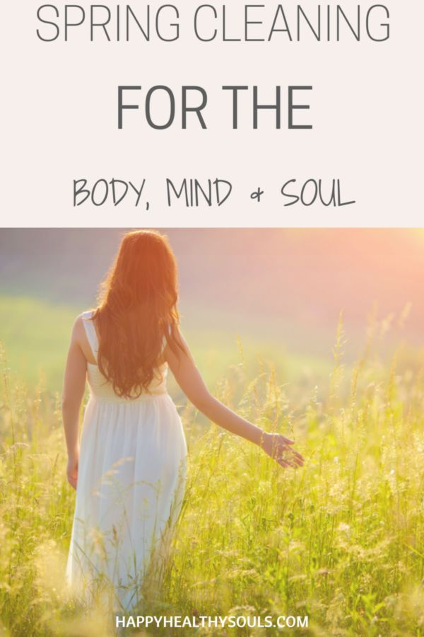 Spring is here which means it's time to pull your house apart, clean every corner and de-clutter! But have you thought about how you're going to clean your body, mind and soul?  On the blog now: Spring Cleaning for your Body, Mind & Soul // http://www.happyhealthysouls.com/soul/spring-cleaning-for-the-body-mind-and-soul   #happyhealthysouls #spring #springcleaning #cleaningtips #tips #soul #help