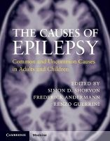 """""""The Causes Of Epilepsy"""" edited by Simon D. Shorvon, Frederick Andermann, Renzo Guerrini"""