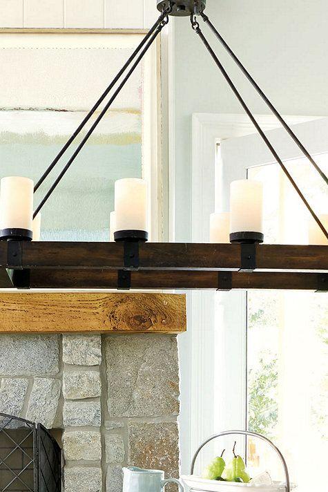 arturo 8 light rectangular chandelier features three 12 extension. Black Bedroom Furniture Sets. Home Design Ideas