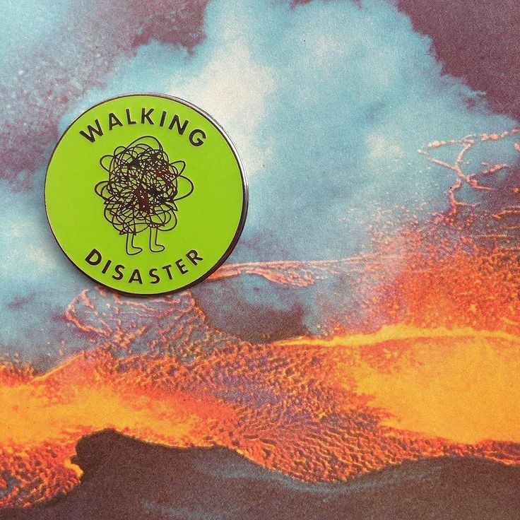 #Repost @molasseswave After you've ruined everything and laid waste to the villages now you'll have this cute pin to light your way! This Walking Disaster pin glows in the dark (almost as bright as when you watched your life go up in flames after college)! Get one today! (Posted by https://bbllowwnn.com/) Tap the photo for purchase info. Follow @bbllowwnn on Instagram for more great pins!
