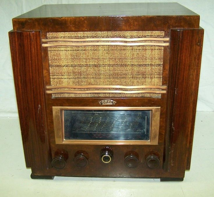 altes Radio ART DECO Röhrenradio FORNETT | eBay