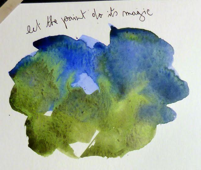 MHBD's Blog: Sketching Now Watercolour