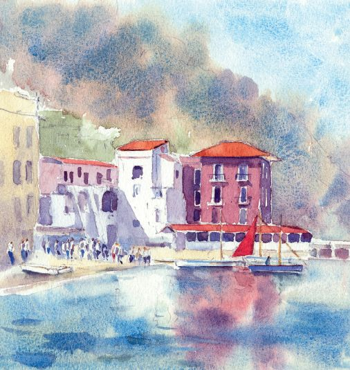 Take a look at Jackson's Artist Watercolours with Becky Samuelson