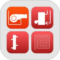 Heating and Natural Gas: Pipe Sizing, Pressure Drop and Cost Calculations. Bundle of apps for iPhone. Also works on iPad. Includes Natural Gas Pipe Size, Heating Pipe Size, Floor Heating, Hydraulic Separator & Heating Cost.