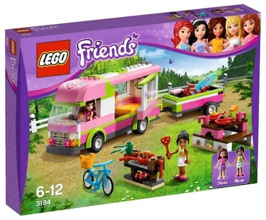 Uh oh, there goes my bank account!!! Haha!  Lego just released information about their new Lego Friends sets--better start saving... ;)