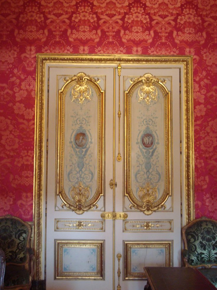 Doors at The Louvre in Paris, France
