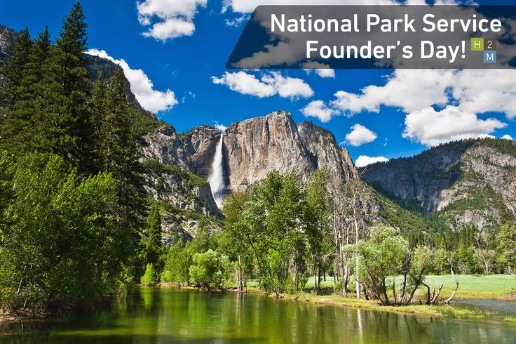 Happy National Park Service Founder's Day! All entrance fees to national parks will be waived today! #H2M #NationalParkServiceFoundersDay