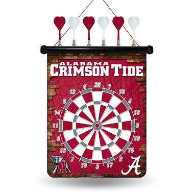 Official NCAA Alabama Crimson Tide Magnetic Dart Board 862848