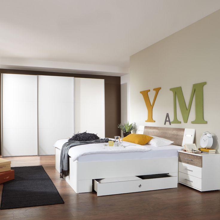 Schlafzimmerset 4-tlg »MODEO« alpinweiß - Wildeiche Jetzt bestellen unter: https://moebel.ladendirekt.de/schlafzimmer/komplett-schlafzimmer/?uid=f2ddad87-3602-5197-85ca-5ea9991f310e&utm_source=pinterest&utm_medium=pin&utm_campaign=boards #eckkleiderschränke #komplettschlafzimmer #nachttische #futonbetten #schlafzimmermöbel #nachtkommoden #schwebetüren #betten #schlafzimmer #kleiderschränke