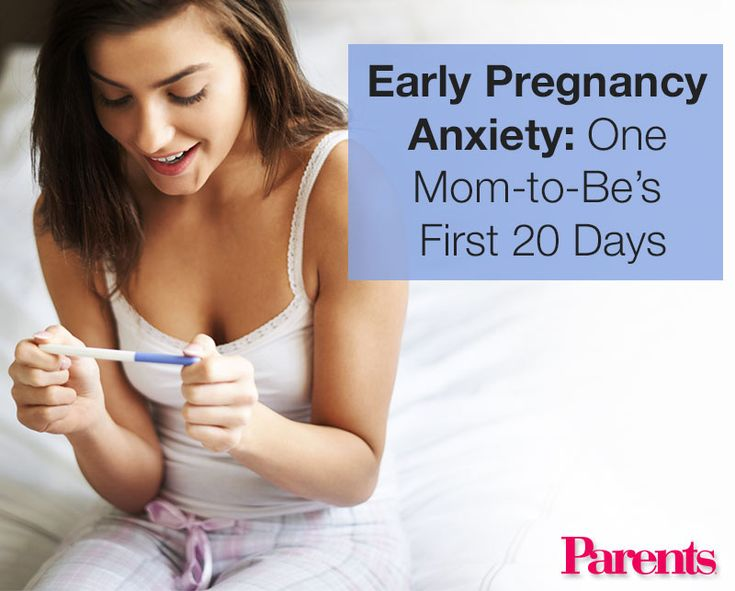One mom-to-be documented her early-pregnancy emotions, and reveals what the first 20 days of her pregnancy were really like.