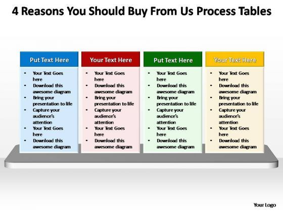 PowerPoint Process Download Process Tables Ppt Slide Designs - PowerPoint Diagram