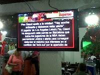 Llego la Señalización Digital al tradicional restaurante de pollo en brasa Los Riviera por @IMVINET #DigitalSignage