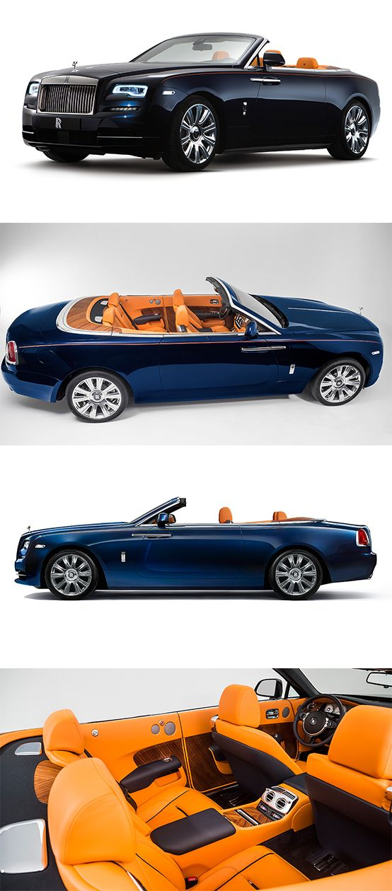 The Rolls-Royce Dawn Drophead Coupe Has Finally Been Revealed