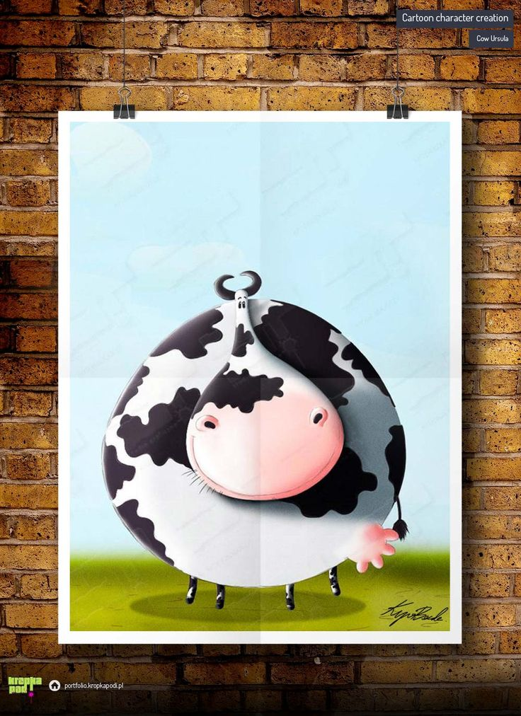 #illustrations #drawings #cartoon #illustrator #children #digital drawing #cartoonig #krupa #cow