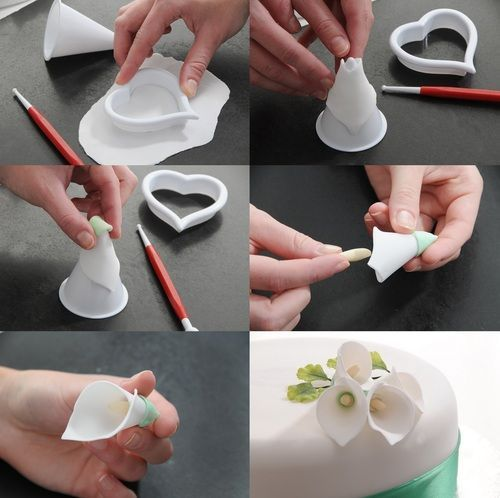 Cake Decorating Tips And Tricks : Lily Cake Decoration Tutorial for Mother s Day Cake ...