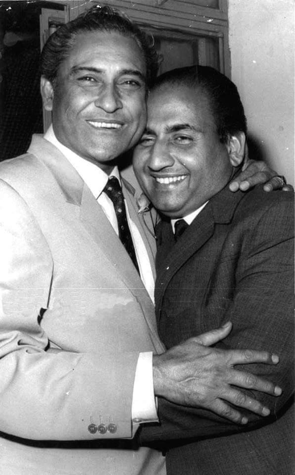 Ashok Kumar and Mohammed Rafi