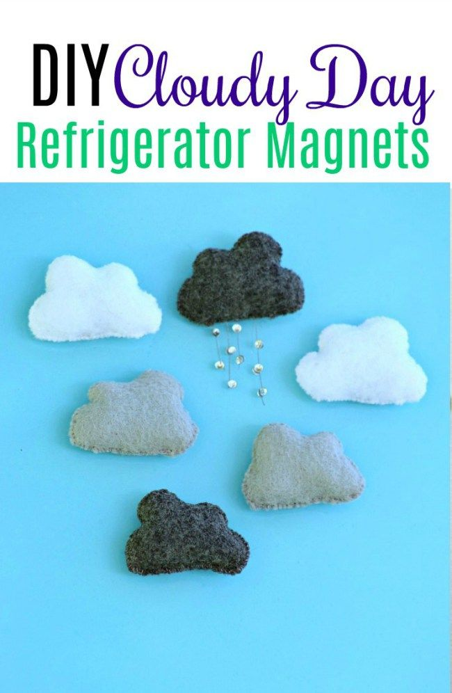 Cloudy Day Magnets