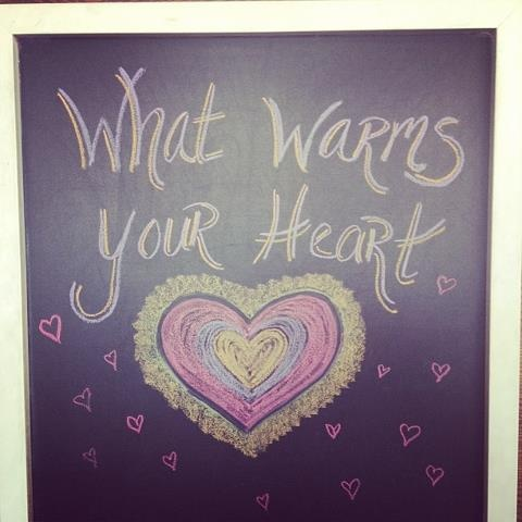 Cafe Gratitude Question of the Day