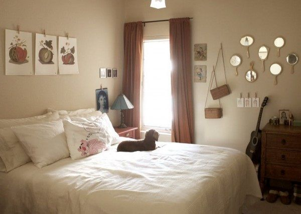 14 best images about bedroom ideas on pinterest stylish for Womens small bedroom ideas