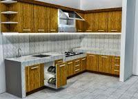 Desain Dapur Minimalis Modern http://www.hargarumah.info