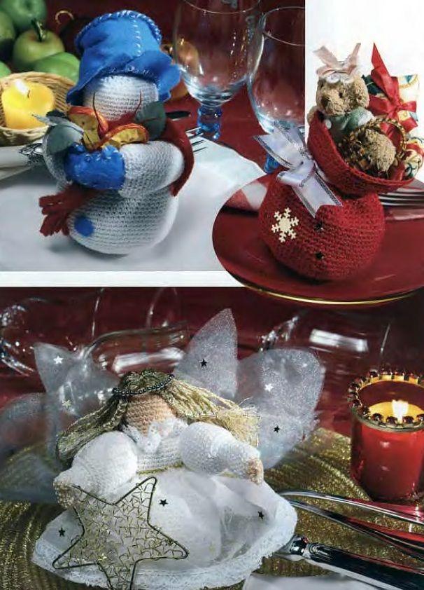 Подарки к Новому 2011 году, связанные крючком