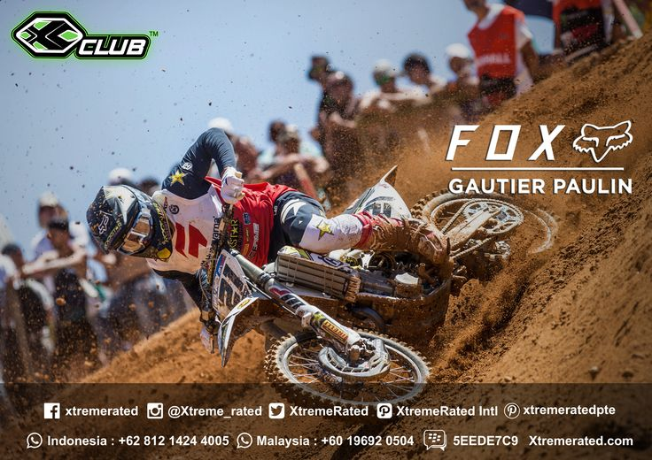 Gautier Paulin Round 12 - MXGP of Portugal - Águeda  #xtremerated #xclub #foxracing #mxgp #mxgp2017