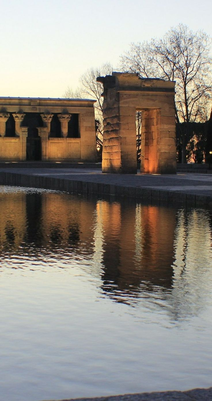 Templo de Debod | Spain's capital city is fairly underrated as far as European capital cities go. Here are 50 things to do in Madrid right now.